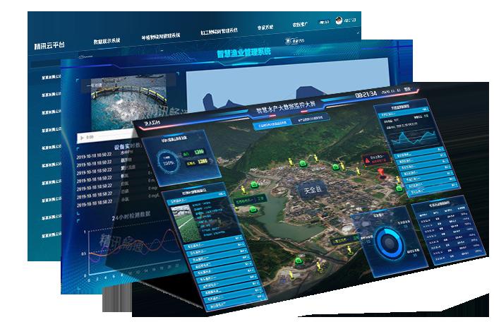 智能水产养殖监控物联网平台