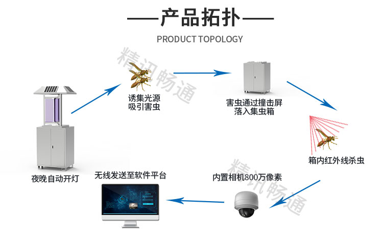虫情监测系统结构
