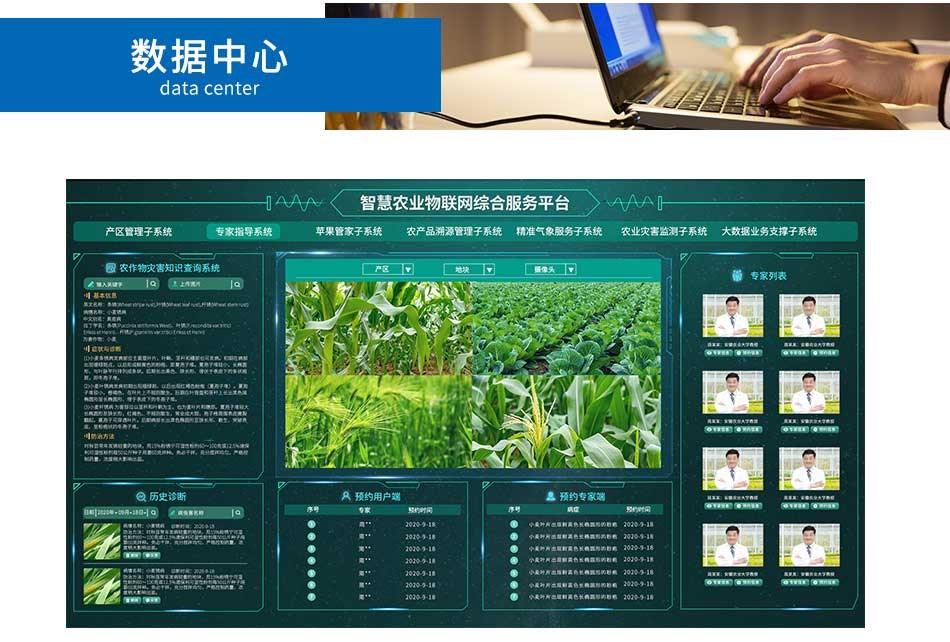 农业物联网云平台_数据中心